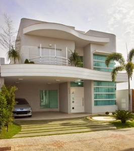 Frente de Casas Modernas